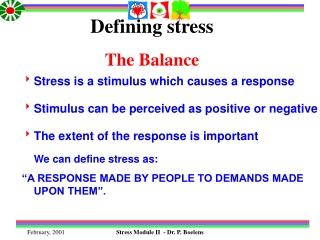 Defining stress The Balance