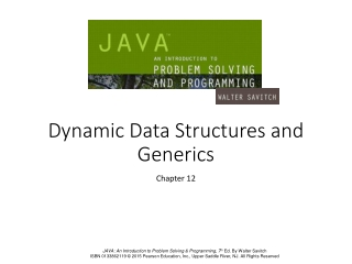 Dynamic Data Structures and Generics