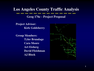Los Angeles County Traffic Analysis