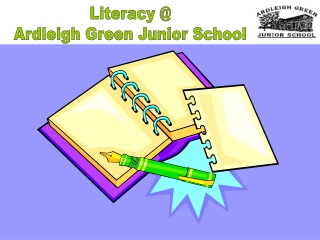 Literacy @ Ardleigh Green Junior School