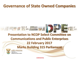 Governance of State Owned Companies