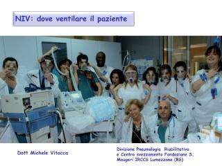 NIV: dove  ventilare il paziente