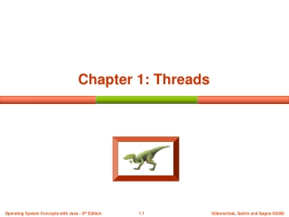 Chapter 1: Threads