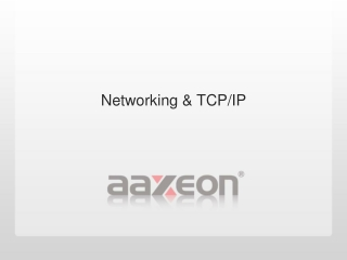 Networking & TCP/IP