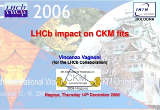 LHCb impact on CKM fits
