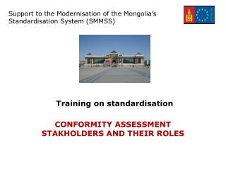Training on standardisation