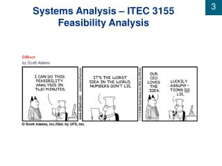 Systems Analysis – ITEC 3155 Feasibility Analysis