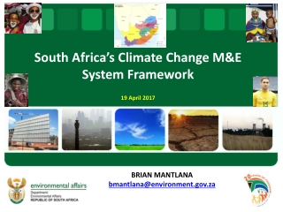 South Africa's Climate Change M&E System Framework 19 April 2017