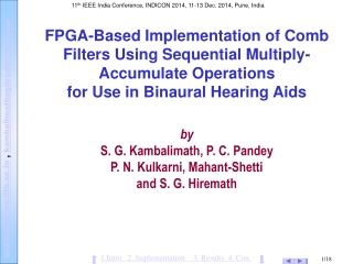 FPGA-Based Implementation of Comb Filters Using Sequential Multiply-Accumulate Operations