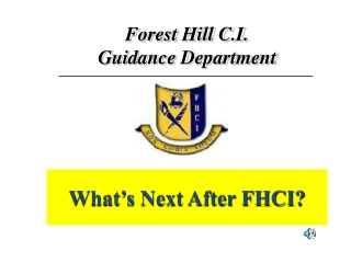 What's Next After FHCI?