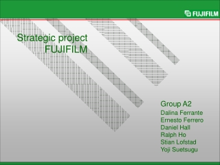 Strategic project FUJIFILM