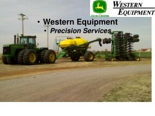 Western Equipment  Precision Services