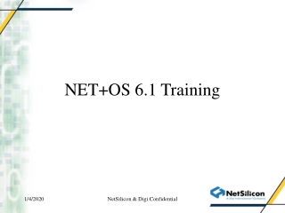 NET+OS 6.1 Training