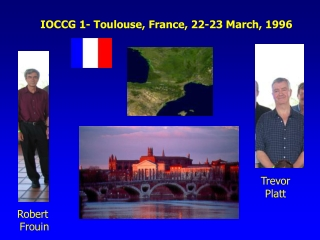 IOCCG 1- Toulouse, France, 22-23 March, 1996