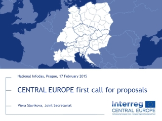 CENTRAL EUROPE  first call  for proposals