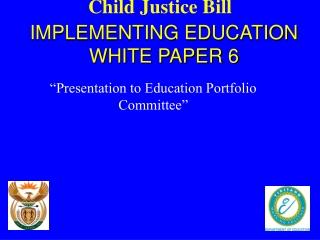Child Justice Bill