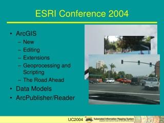 ESRI Conference 2004