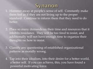 Synanon