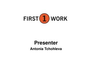 Presenter Antonia Tchohleva