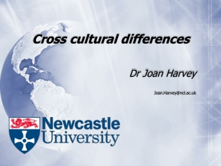 Cross cultural differences