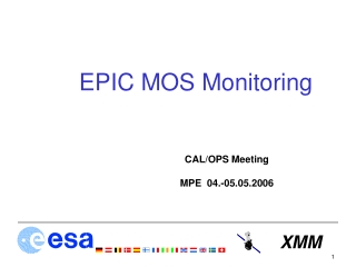 EPIC MOS Monitoring