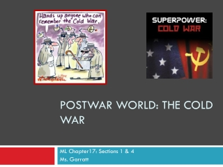 Postwar World: The Cold War