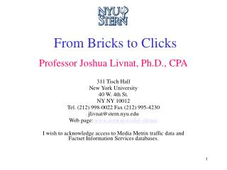 From Bricks to Clicks