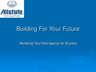 Building For Your Future