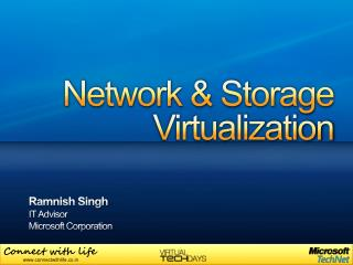 Network & Storage  Virtualization