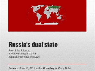 Russia's dual state