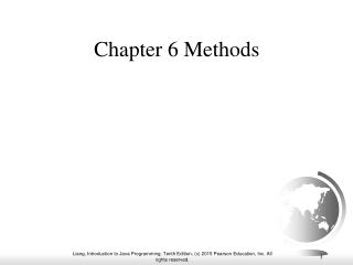 Chapter 6 Methods