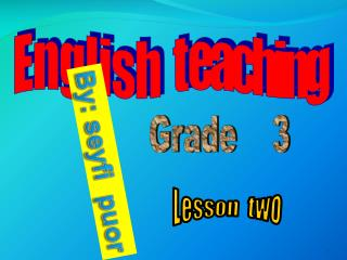 teaching objective pronouns
