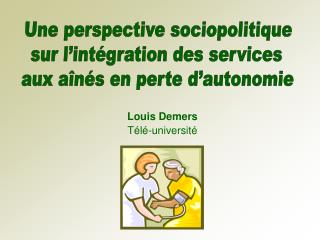 Louis Demers T l -universit