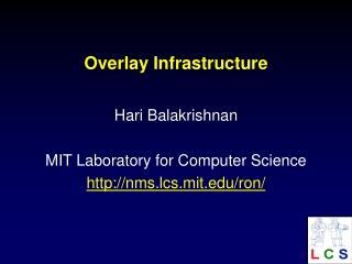 Overlay Infrastructure