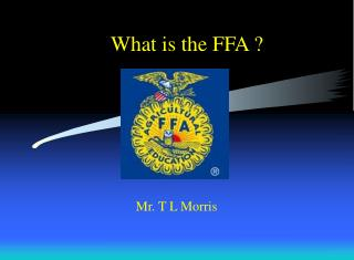 What is the FFA ?