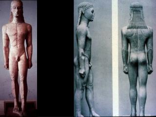 New York Kouros c. 600 BC