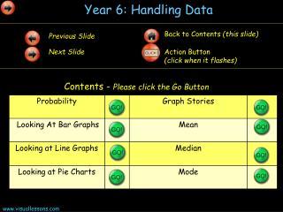 Year 6: Handling Data