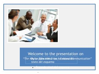 Welcome to the presentation on