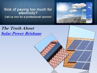 Solar Power Brisbane