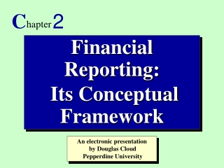 ELEMENTS OF FINANCIAL STATEMENTS AND OTHER FINANCIAL REPORTS