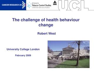 The challenge of health behaviour change