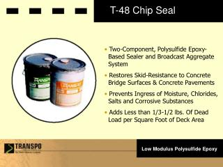 T-48 Chip Seal