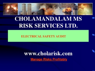 CHOLAMANDALAM MS RISK SERVICES LTD. cholarisk