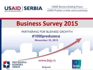 Business Survey 2015