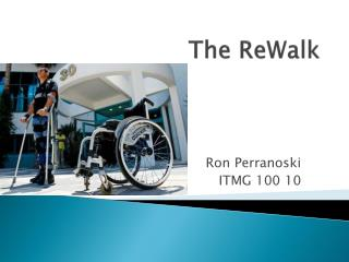 The  ReWalk