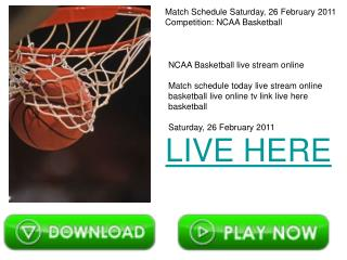 Nebraska vs Iowa St. NCAA Basketball live stream online TV.