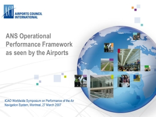 ANS Operational Performance Framework as seen by the Airports
