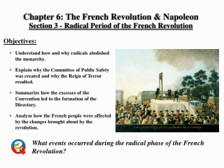 Chapter 6: The French Revolution & Napoleon Section 3 - Radical Period of the French Revolution