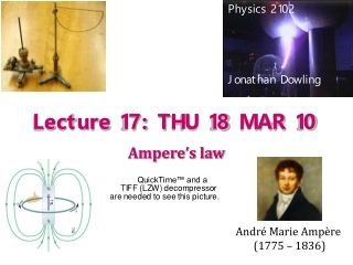 Lecture 17: THU 18 MAR 10