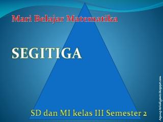 Matematika-segitiga